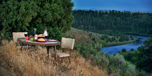The Table Photographs Shadow Ashton Grand Teton View - Fine Art Prints on Metal, Canvas, Paper & More By Kevin Odette Photography