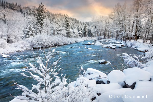Ice Blue Waters, Truckee River