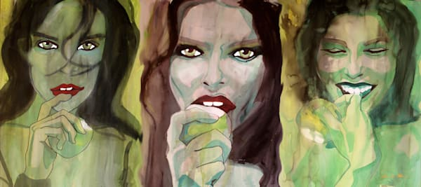 Into Temptation   Triptec Art | William K. Stidham - heART Art