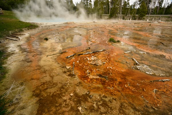 The Colors of this World Geyser Basin Photographs Yellowstone National Park - Fine Art Prints on Metal, Canvas, Paper & More By Kevin Odette Photography