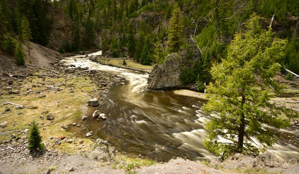 Firehole River Rapids Photographs Yellowstone National Park - Fine Art Prints on Metal, Canvas, Paper & More By Kevin Odette Photography
