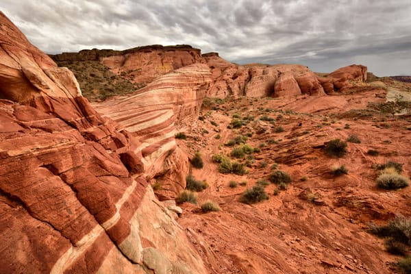 Bacon Wave Desert Sizzle - Valley of Fire Nevada - Fine Art Prints on Metal, Canvas, Paper & More By Kevin Odette Photography