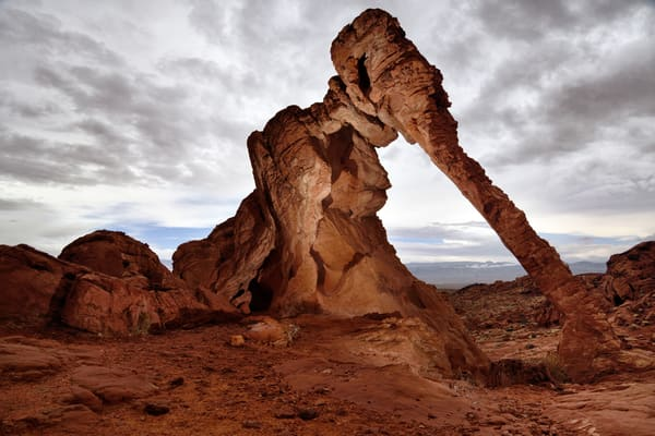 Ancient World Remembers - Elephant Rock - Valley of Fire Nevada - Fine Art Prints on Metal, Canvas, Paper & More By Kevin Odette Photography