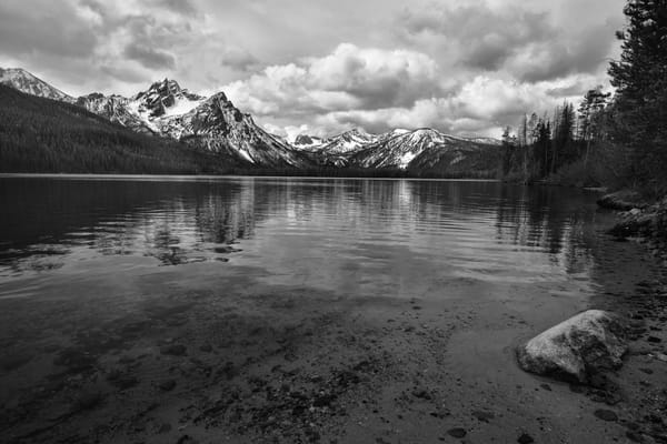 McGowins Solitude - Stanley Lake Idaho - Fine Art Prints on Metal, Canvas, Paper & More By Kevin Odette Photography