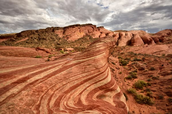 Nurias Wave - Bacon - Valley of Fire Nevada - Fine Art Prints on Metal, Canvas, Paper & More By Kevin Odette Photography