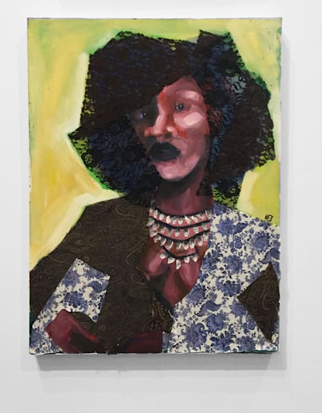 Trust Is Earned Paintings by Angela Davis Johnson.
