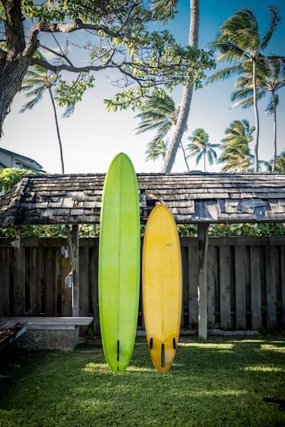 green yellow surfboards hawaii