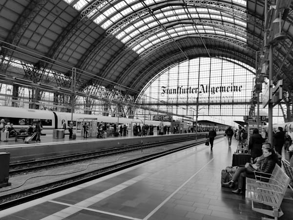 Germany Train Station Photography Art | Photoissimo - Fine Art Photography