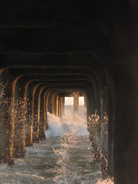Manhattan Beach Pier #3 Photography Art | Photoissimo - Fine Art Photography
