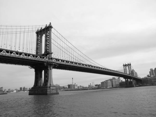 Manhattan Bridge #1 Photography Art | Photoissimo - Fine Art Photography