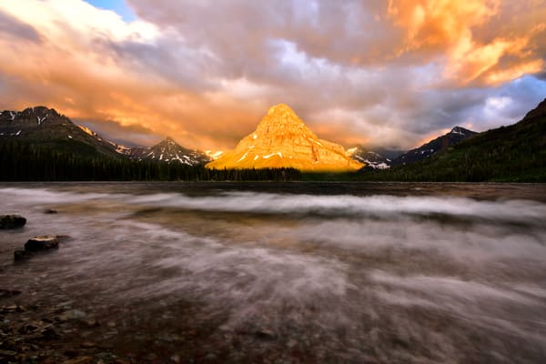 Presence Of Glory - Glacier National Park Photographs Going to the Sun Road - Montana - Fine Art Prints on Metal, Canvas, Paper & More By Kevin Odette Photography