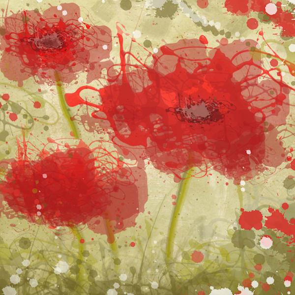 Summer Flower Splash 18 Art | Irena Orlov Art