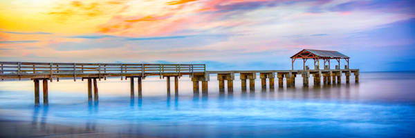 """Sunrise Pier"" (3:1 ratio)"