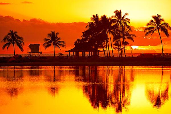 """""""Salt Pond Sunset"""""""