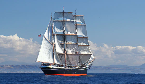 Star of India at Sea