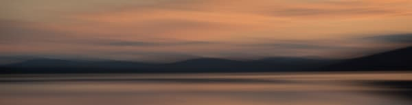 Photograph of evening light on a lake for sale as fine art.