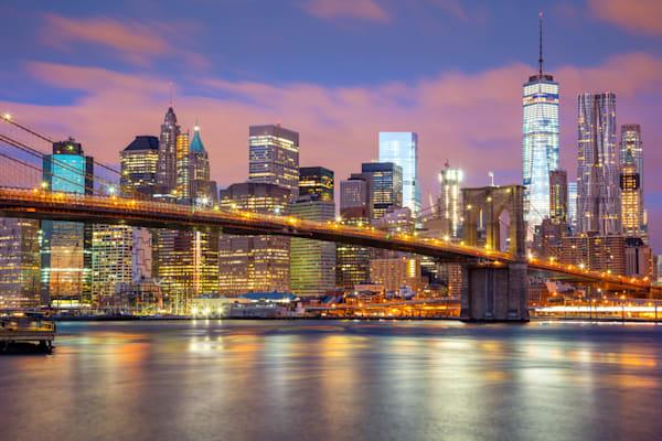 Manhattan Skyscrapers and Brooklyn Bridge DPC_101110158