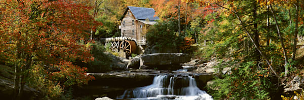 Autumn at the Grist Mill II