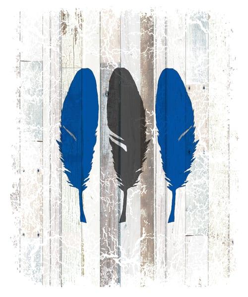 Blue Feathers - AL-LIGBOX165605