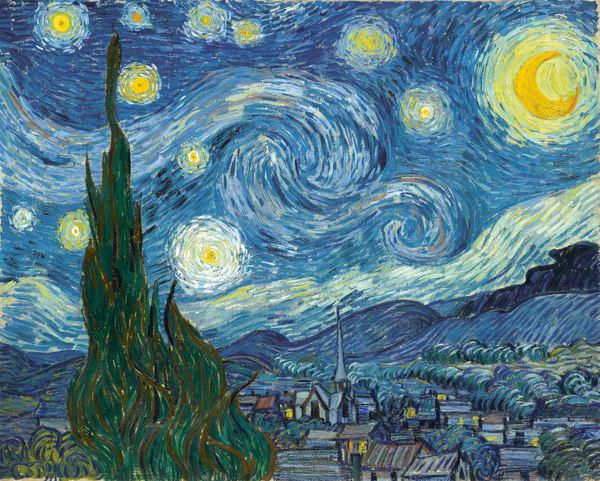 Starry Night 1889, MASCOL81018