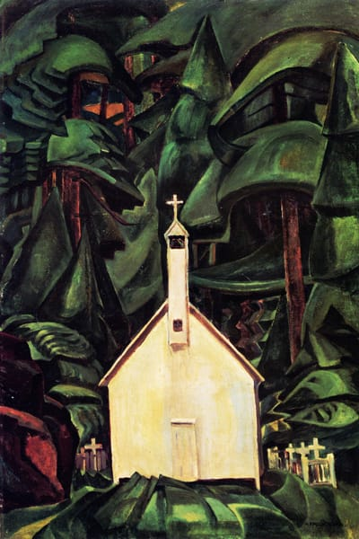 Indian Church.by Emily Carr