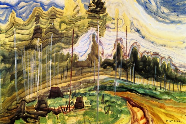 Langford B.C., 1939.by Emily Carr