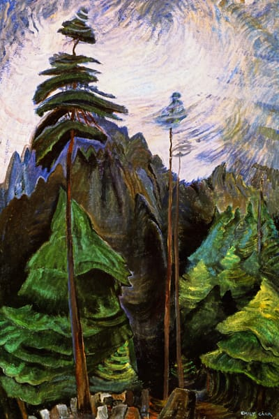 Mountain Forest, 1936.by Emily Carr
