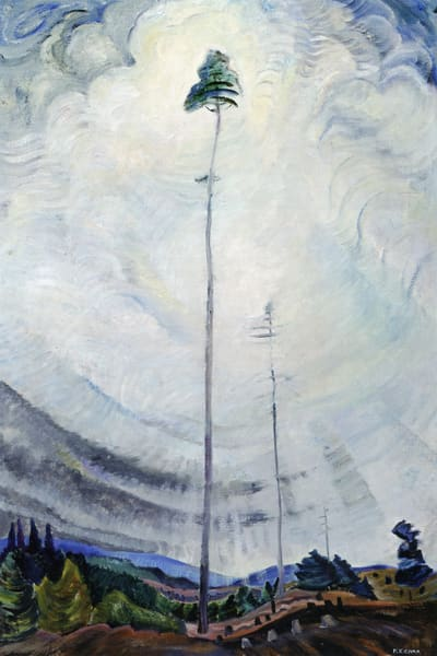 Scorned as Timber, Beloved of the Sky.by Emily Carr
