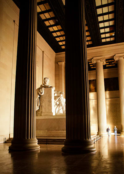 Visitors To The Lincoln Memorial | Fine Art Travel Photographs