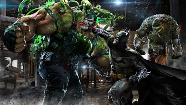 Bats vs Bane and KC
