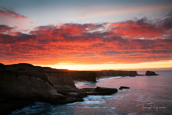 Promise - Panther Beach Sunrise photograph for sale as fine art by Tony Pagliaro
