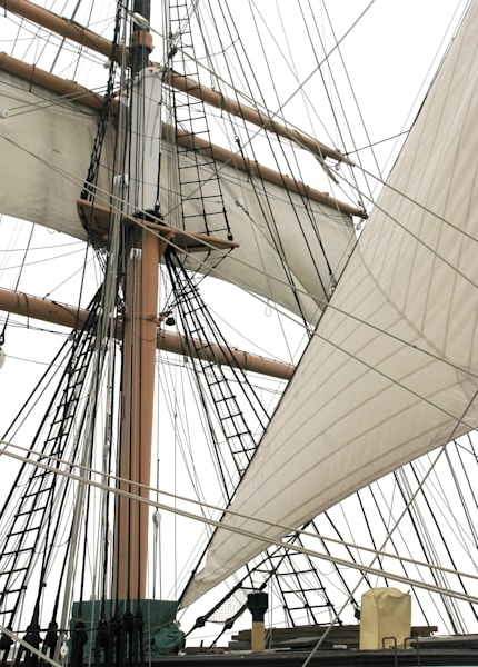 Star of India sails and rigging photo