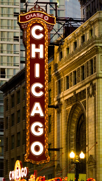 Chicago Theater Photography Art | Rod Pickett Photography