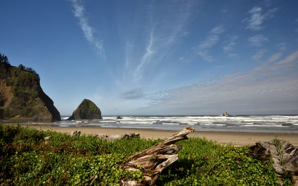 Arch Cape Afternoon at the Beach - Oregon Pacific Northwest - Fine Art Prints on Metal, Canvas, Paper & More By Kevin Odette Photography