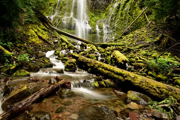 Hallowed Ground - Three Sisters Wilderness Oregon Waterfalls - Fine Art Prints on Metal, Canvas, Paper & More By Kevin Odette Photography
