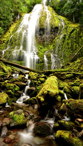 The Keepers Watch - Three Sisters Wilderness Oregon Waterfalls - Fine Art Prints on Metal, Canvas, Paper & More By Kevin Odette Photography