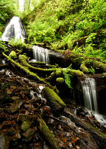 Three Fairies - Fairy Falls Columbia River Gorge - Fine Art Prints on Metal, Canvas, Paper & More By Kevin Odette Photography