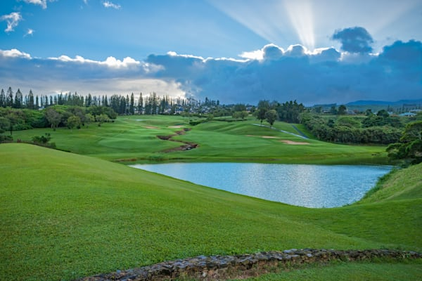16th Hole, Kapalua's Bay Course