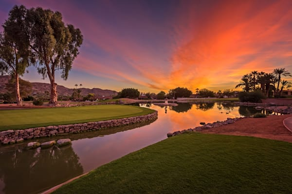 Dawn at Mountain Shadows, Paradise Valley, AZ