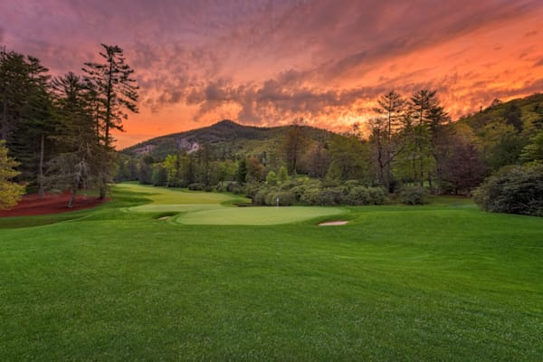 Dawn at Wade Hampton Golf Club, Cashiers, NC