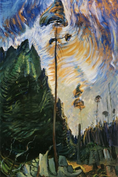 Edge of the Forest.by Emily Carr