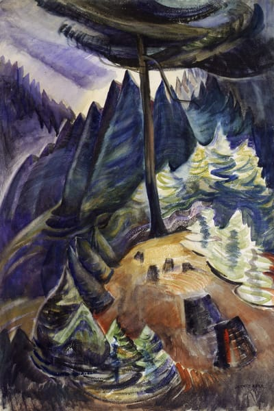 Pines in May.by Emily Carr
