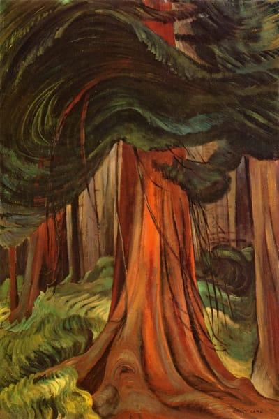 Red Cedar, 1933.by Emily Carr