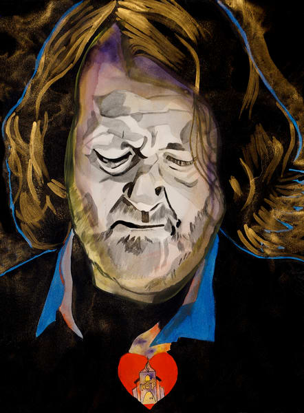 J.B.   Widespread Panic Art | William K. Stidham - heART Art