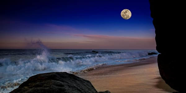 Full Moon In Cabo Photography Art | John Martell Photography