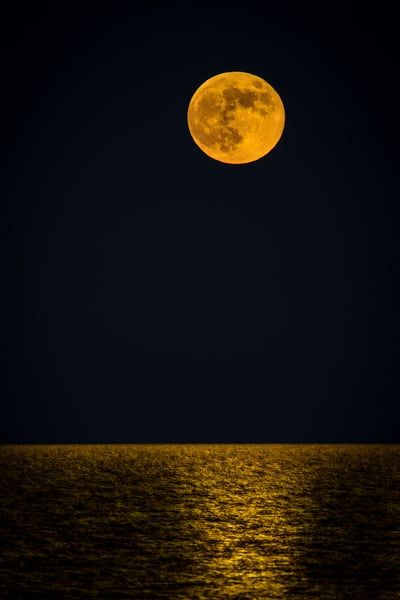 Harvest Moon Photography Art | John Martell Photography