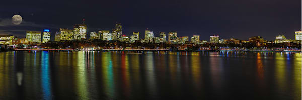 Boston Super Moon Photography Art | John Martell Photography