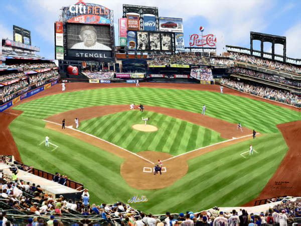 New York Mets At Citi Field - The Gallery Wrap Store