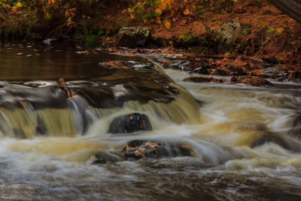 Bond Falls in Autumn 4 - Fine Art Print | William Drew