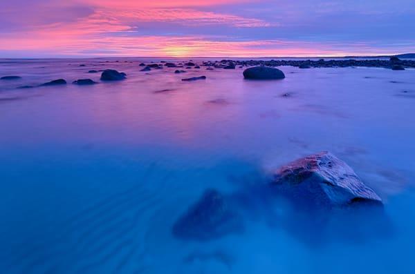 Sunrise over the Sandy Point